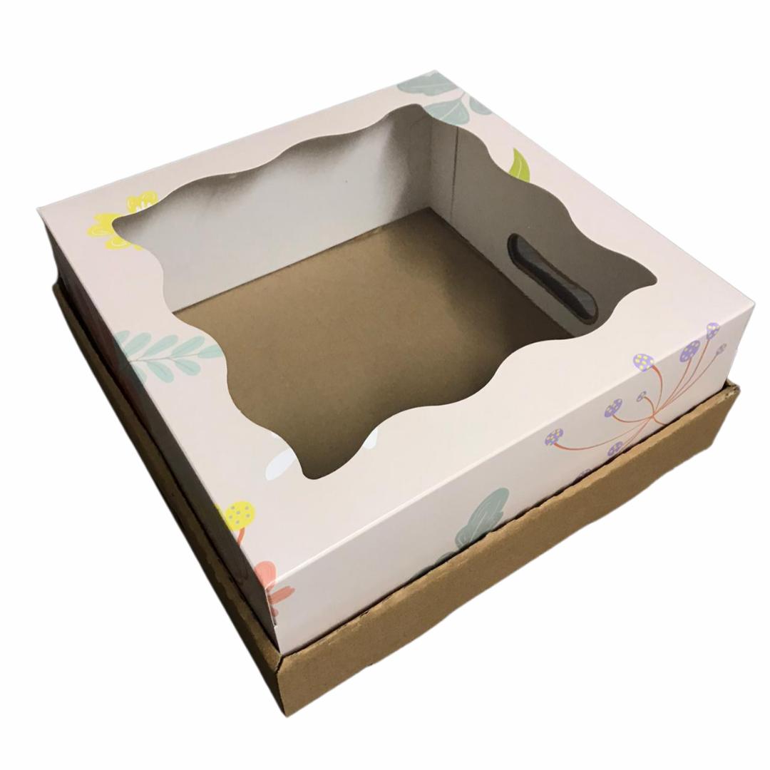 Bandeja Caja Desayuno 30x30x12