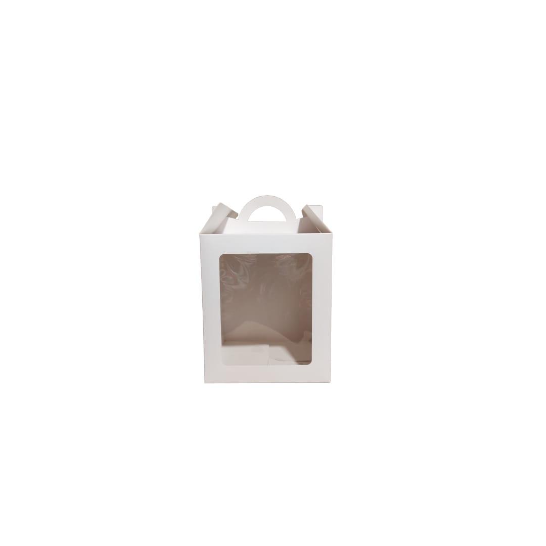 Caja Pan Dulce 1/2 KG 13x13x17 cm