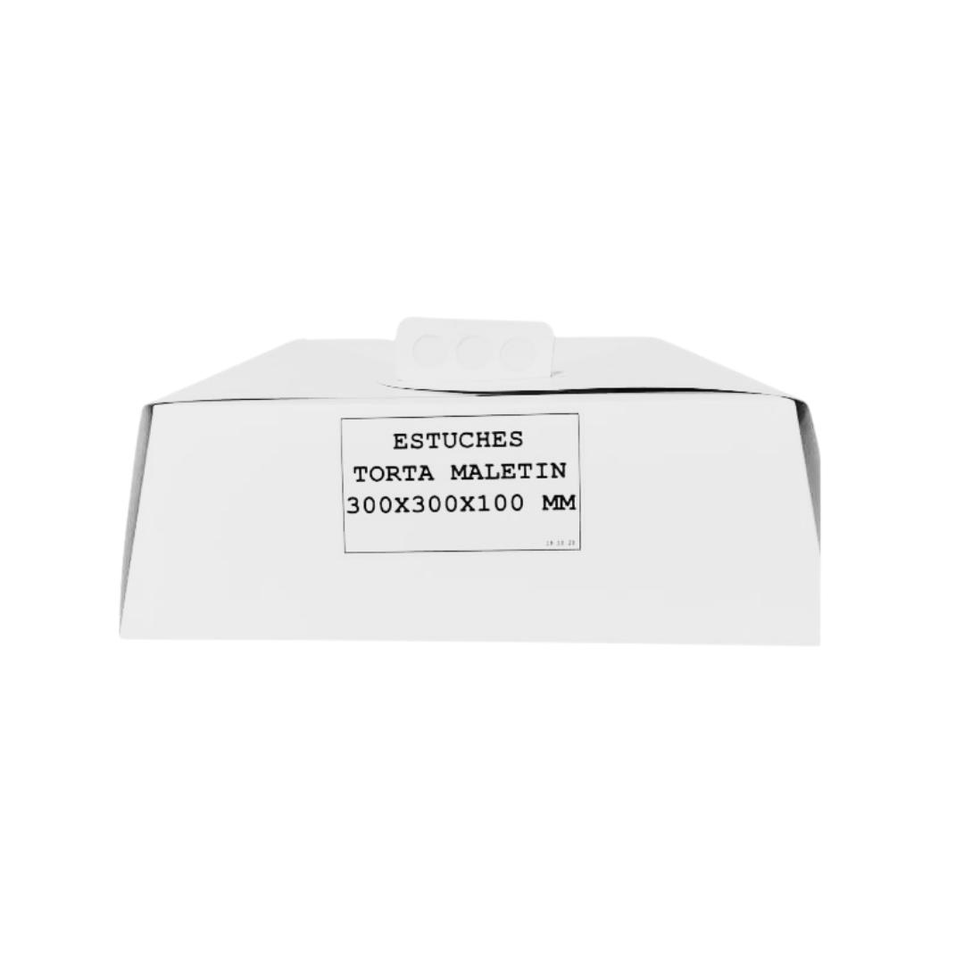 Caja Torta Maletin 30x30x10 cm