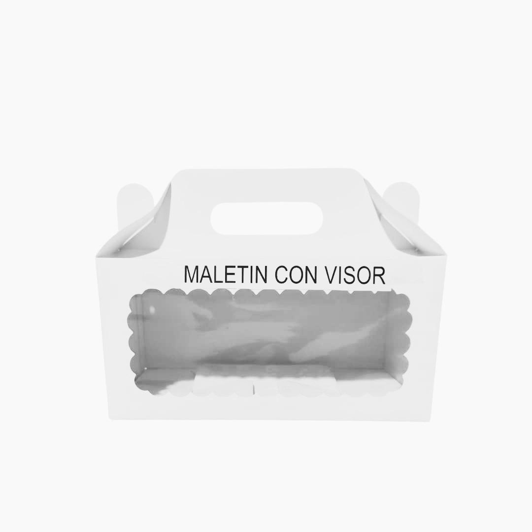 Maletin con Visor 24x12x12 cm