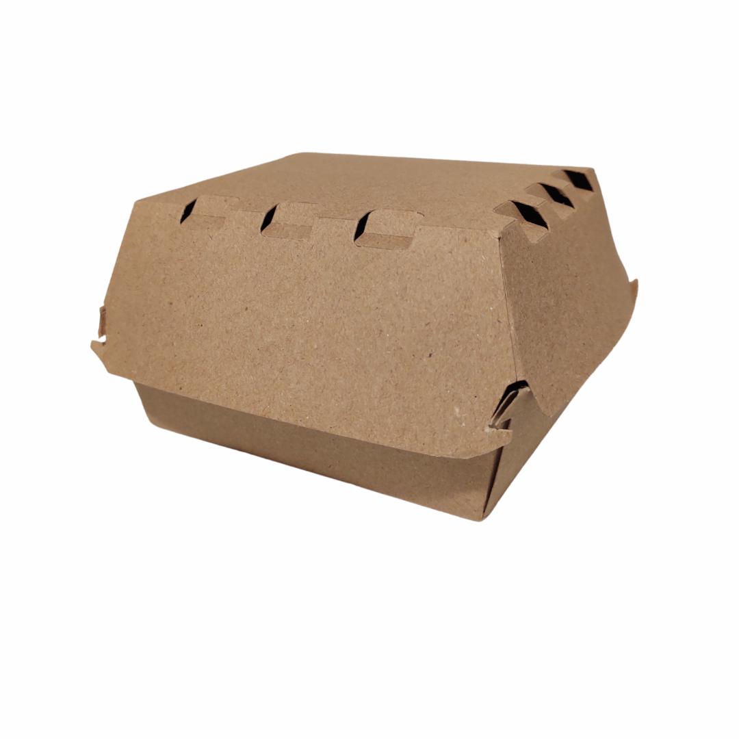 Caja Hamburguesa Grande 12,7x11,4x8,7 cm